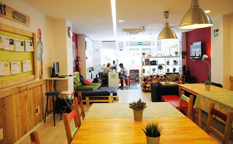 best hostels chains in europe hostel one ramblas barcelona