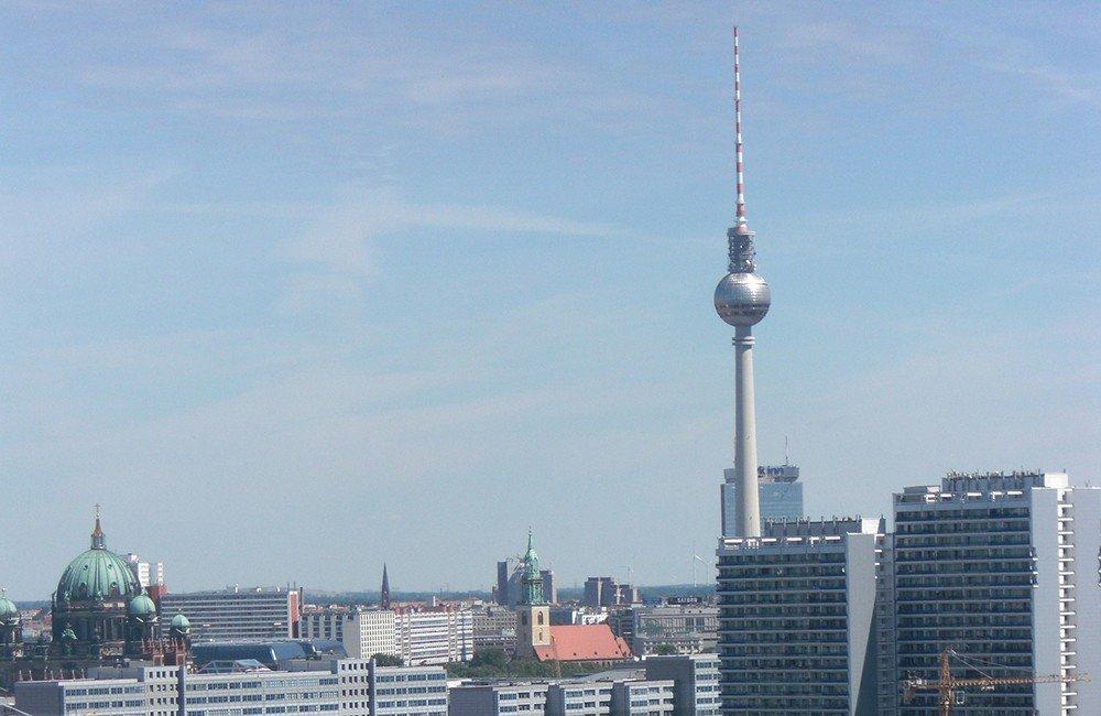 top tourist attractions in berlin tv tower berlin