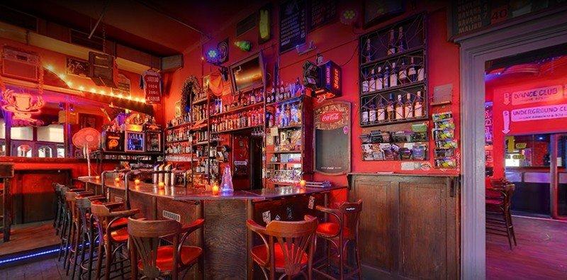 best bars in prague cheapeau rouge prague