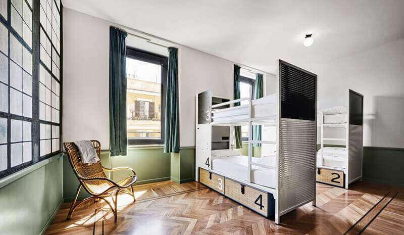 best hostels in europe generator hostel rome