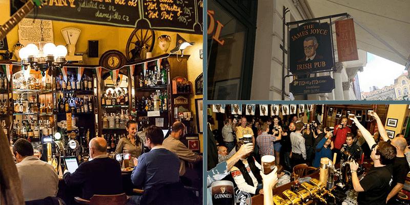 best bars in prague james joyce irish bar prague