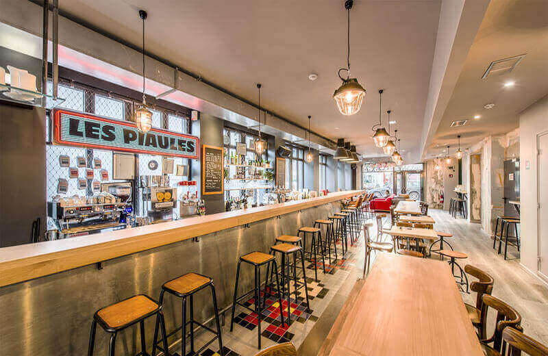 Top hostels in europe | les piaules hostel paris bar