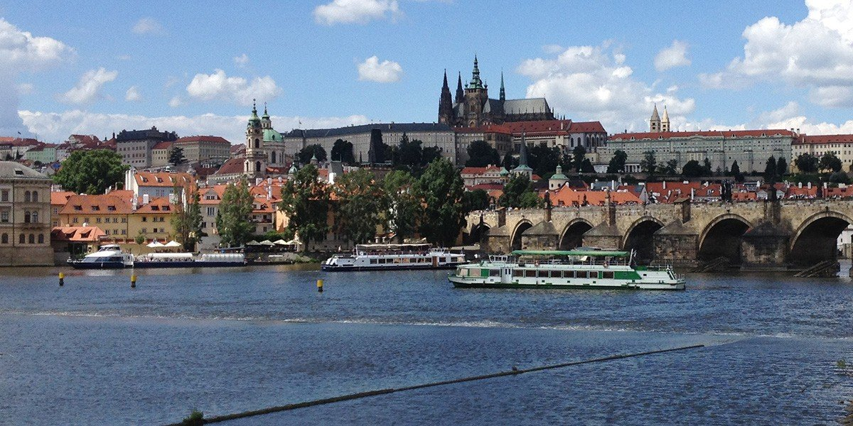 Best Hostels in Prague prague castle and charles bridge