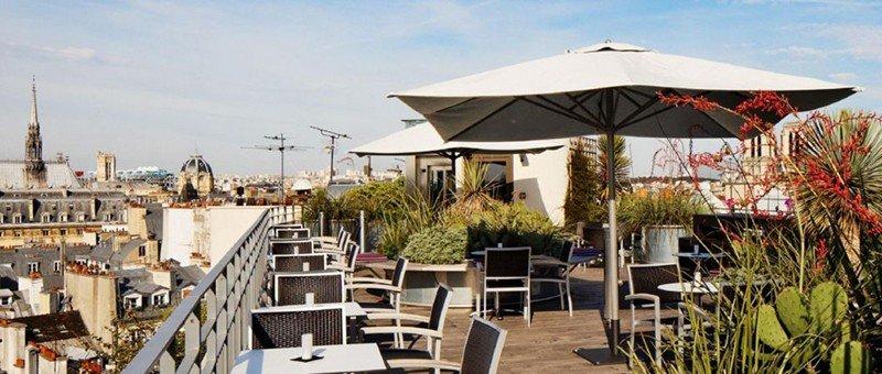 best rooftop bars in paris 43 up on the roof terrace paris