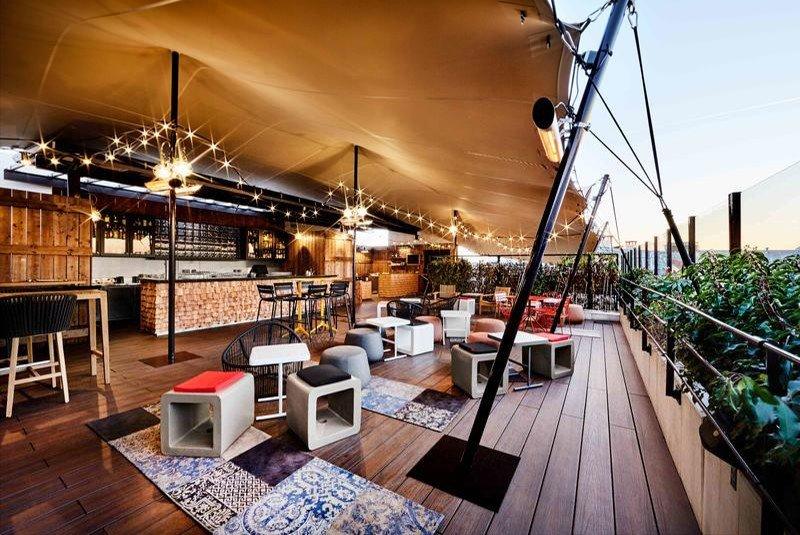 best rooftop bars in paris khayma bar generator hostel paris