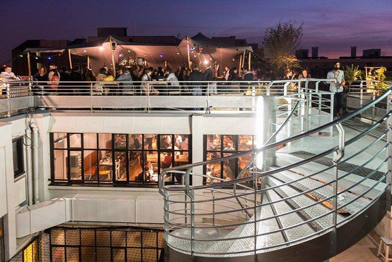 best rooftop bars in paris leperchoir rooftop terrace