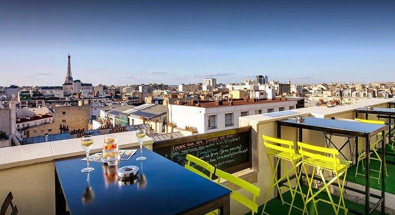 best rooftop bars in paris lounge bar view paris