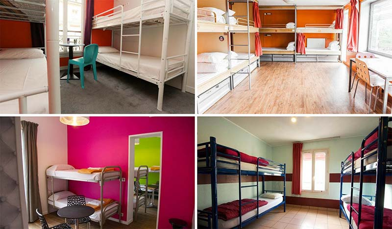 cheap hostels in paris