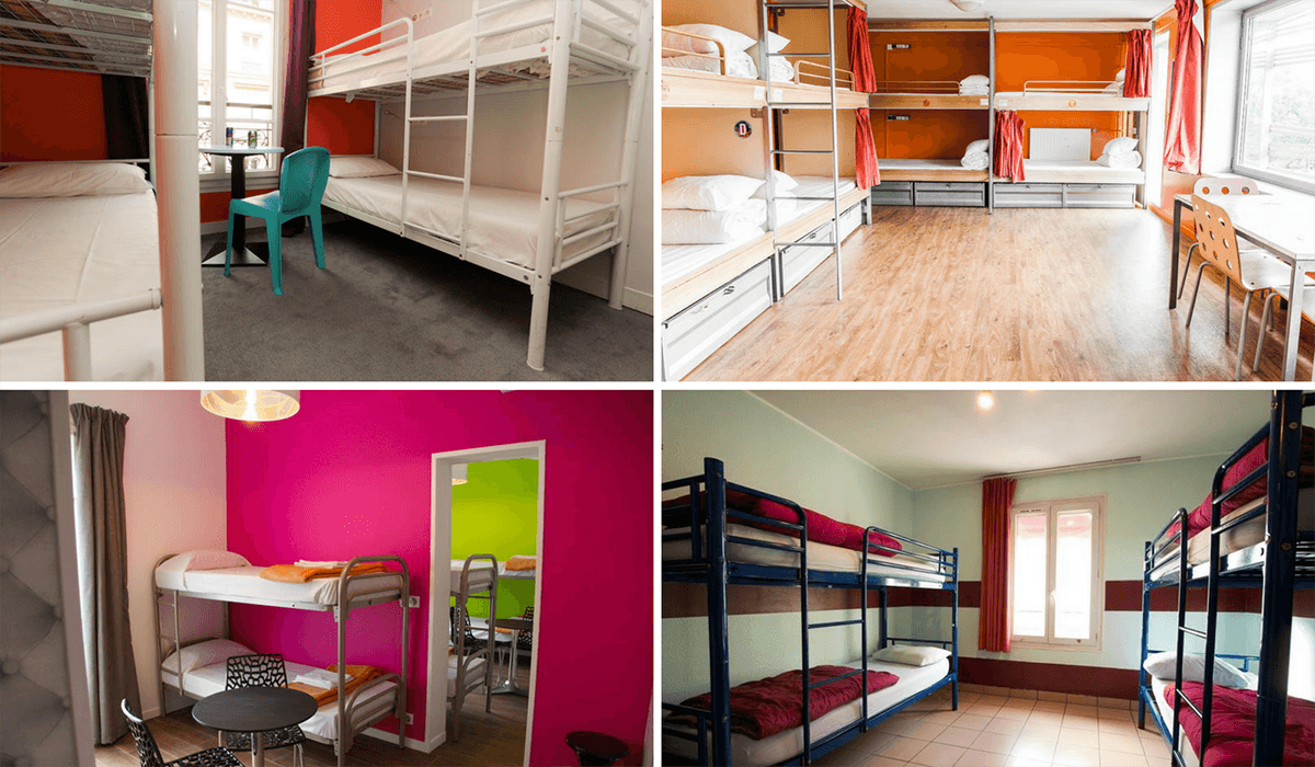 cheap hostels of paris