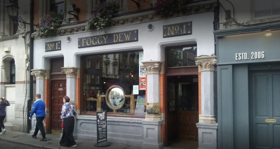 best pubs in dublin foggy dew pub dublin
