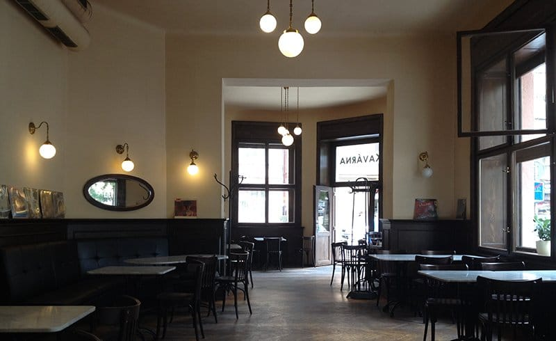 Best Bars in Prague Kavarna Liberal
