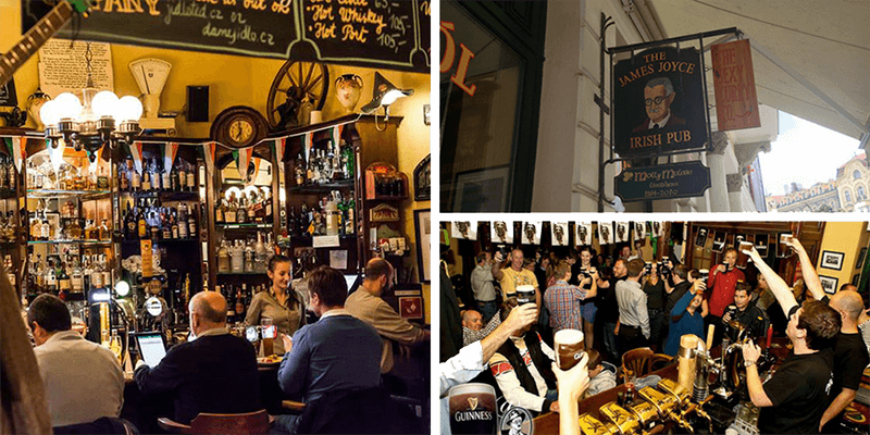 best bars in prague james joyce irish bar prague