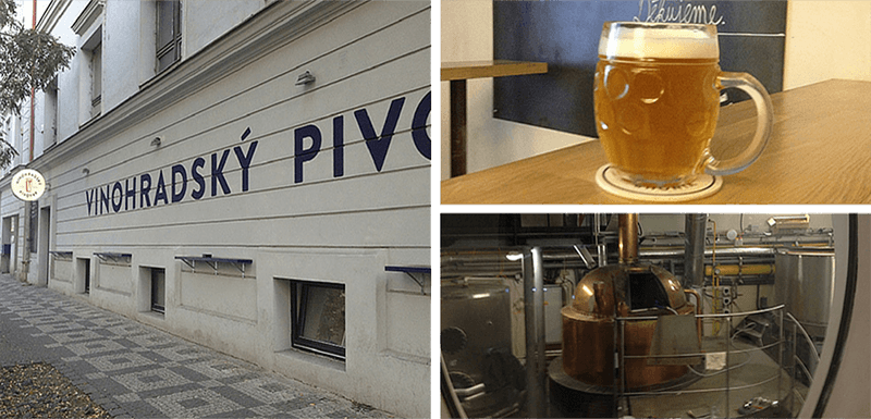 best bars in prague vinohradsky pivovar prague