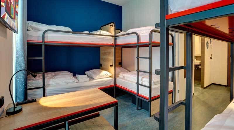 Best Hostels in Amsterdam - MEININGER Amsterdam Amstel Hostel Amsterdam