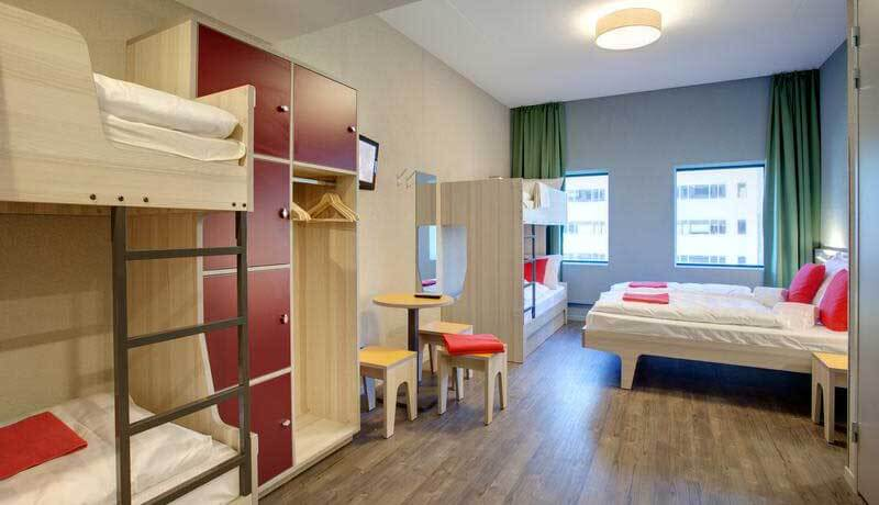 Cheap Hostels in Amsterdam MEININGER Amsterdam City West Luxury Hostel