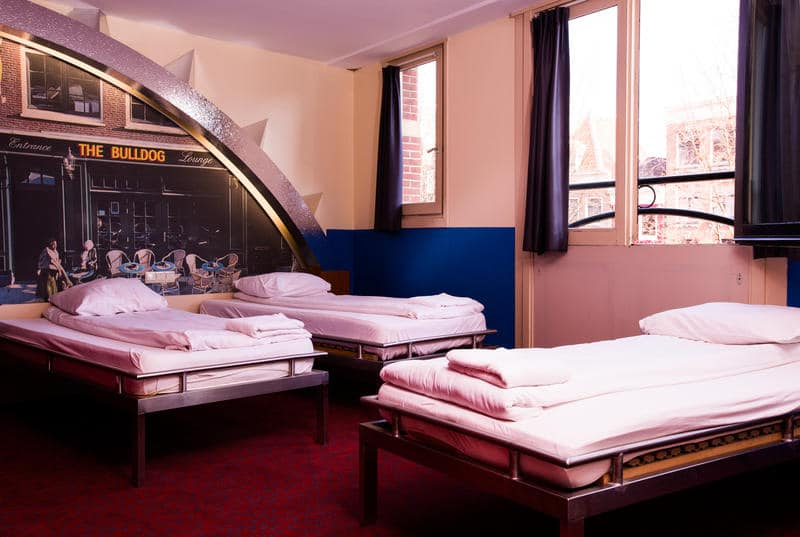 Best Party Hostels in Amsterdam - The Bulldog