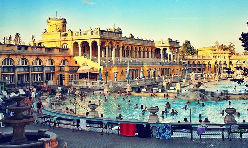 Things To Do in Budapest Szechenyi Bath Budapest
