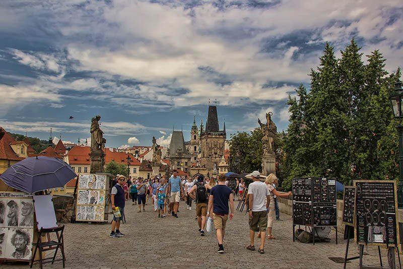 best things to do in prague Charles Bridge