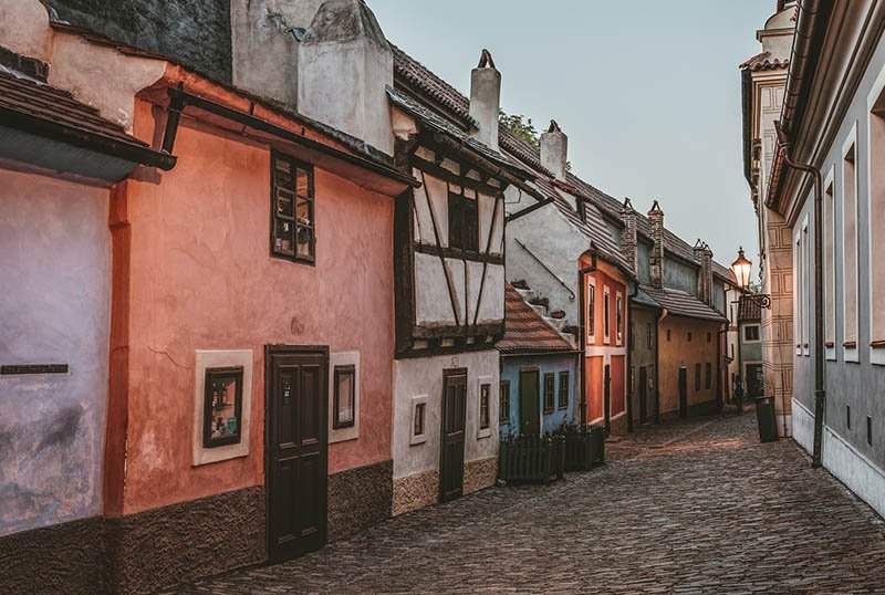 best things to do in prague Golden Lane