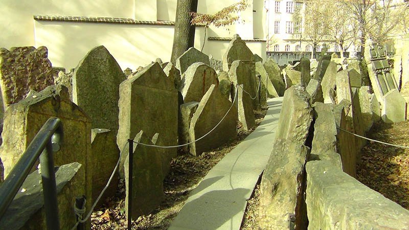 best things to do in prague Jewish Graveyard