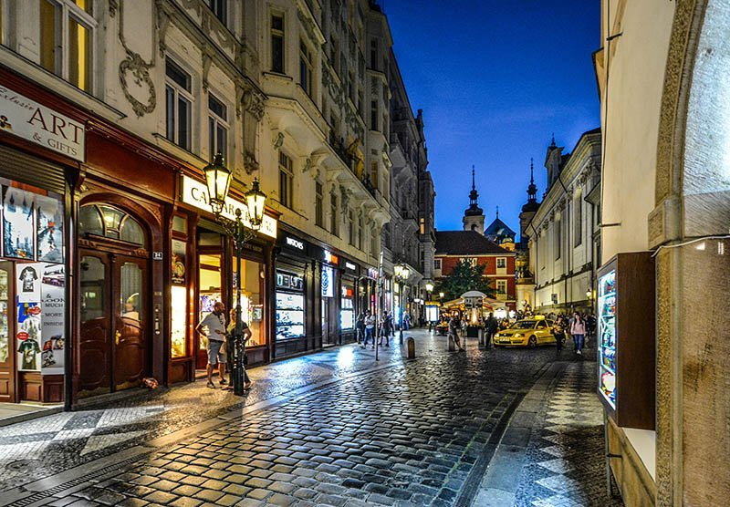 best things to do in prague Old Town Streets