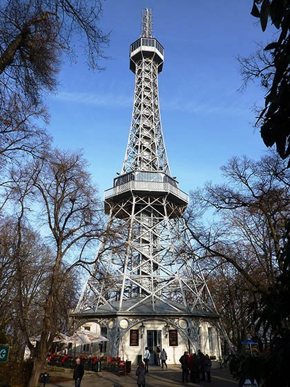 best things to do in prague Petrin Hill