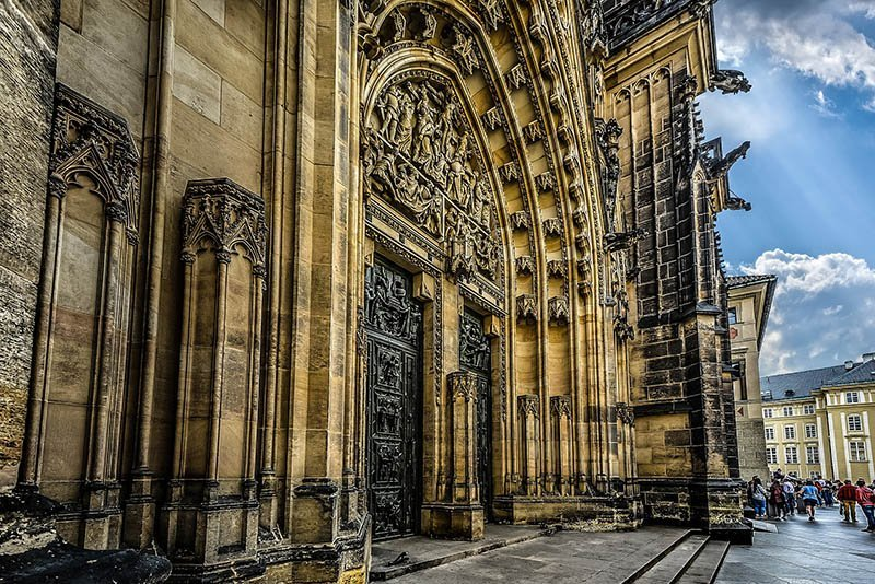 best things to do in prague St Vitus Cathedral