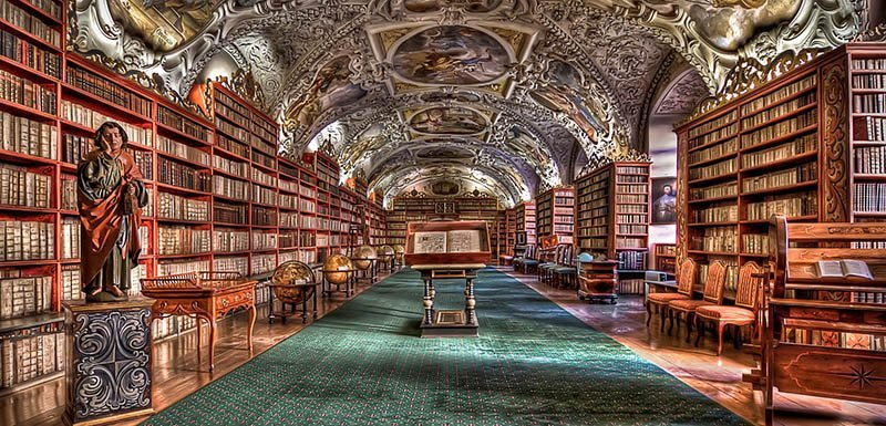 best things to do in prague Strahov Monastery and Library