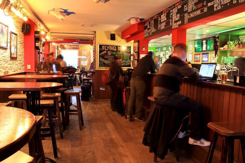 Best Hostels in Amsterdam The Flying Pig Uptown