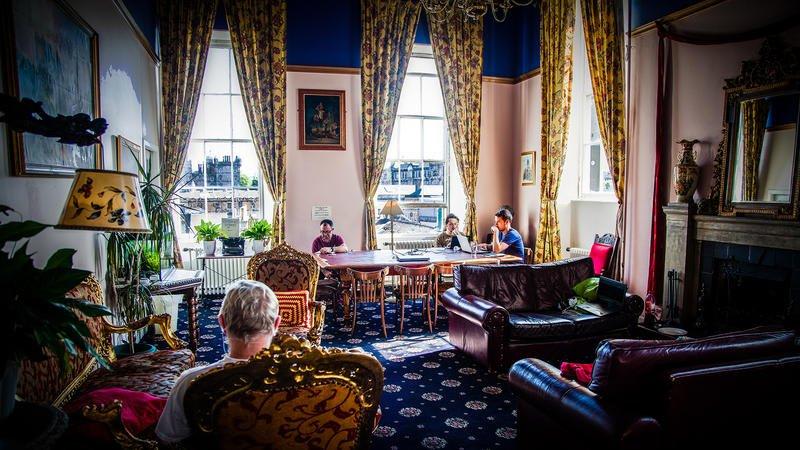 Best Hostels in Edinburgh Castle Rock Hostel Edinburgh