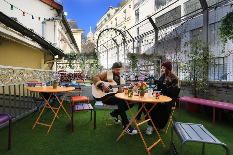 Best Hostels in Paris Le Village Montmartre by Hiphophostels Paris