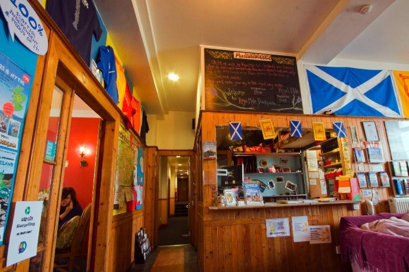 Hostels in Edinburgh - Royal Mile Backpackers Edinburgh