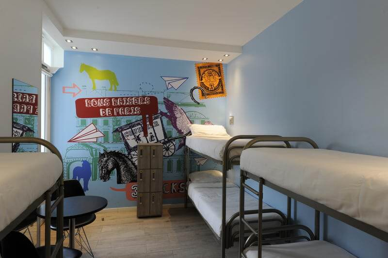 Best Hostels in Paris The 3 Ducks Eiffel Tower Paris