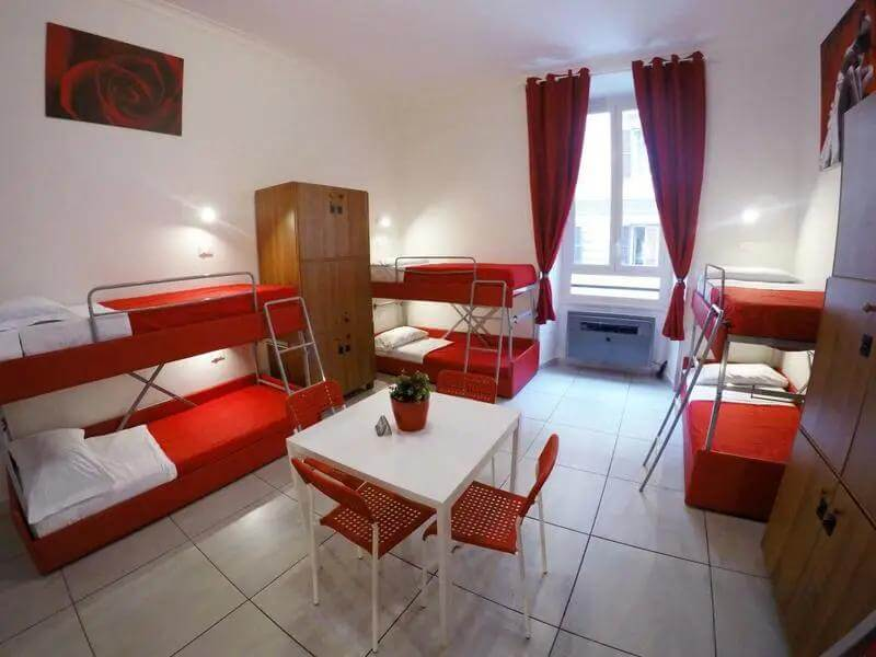 Palladini Hostel Best Hostels in Rome