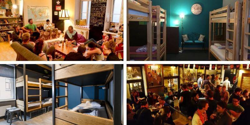 Best Hostels in Riga Collage