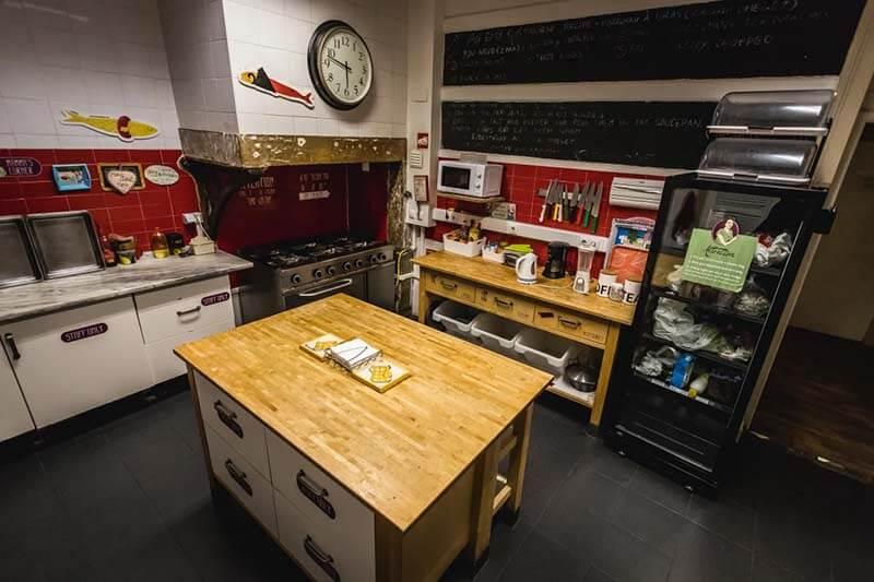 What is a Hostel - Home Lisbon Hostel Kitchen