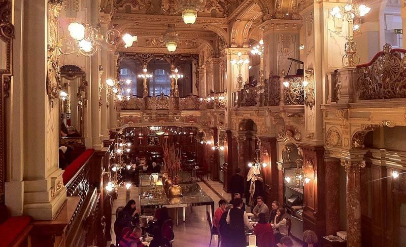 New York Kavehaz Budapest Coffeehouse