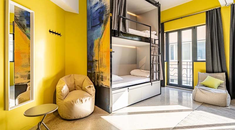 Best Hostels in Athens - Athens Hub Hostel Featured Image