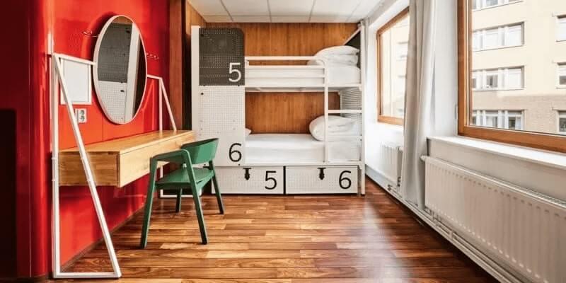 Best Hostels in Stockholm Generator Dorm