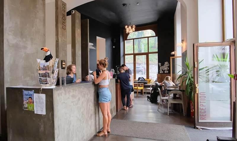 Czech Inn Prague Reception Best Hostels in Prague