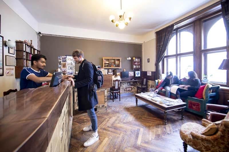 Sir Tobys Hostel Reception Best Hostels in Prague